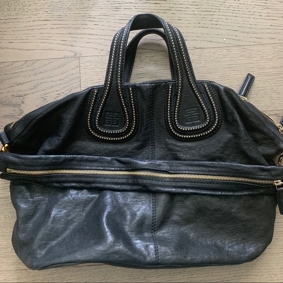 Givenchy Nightingale Medium Bag in Black